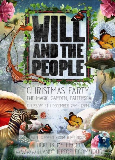 Will-And-The People-Christmas-Party-5th-December