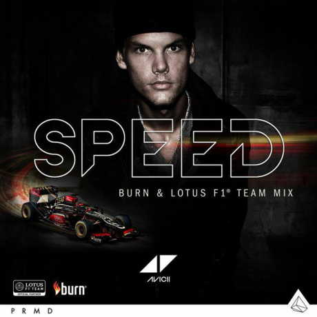 Avicii-Speed-Burn-Lotus-F1-Team-Mix-2013