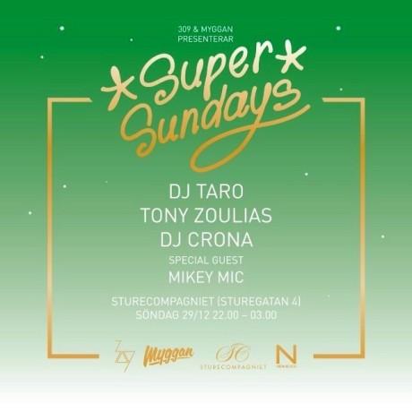 Ikväll - årets sista Super Sundays