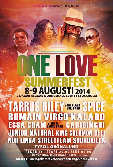 One Love Summer Fest Stockholm, Sweden