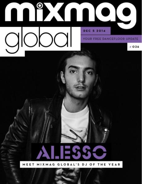 Alesso named MixMag's Global DJ of the Year!