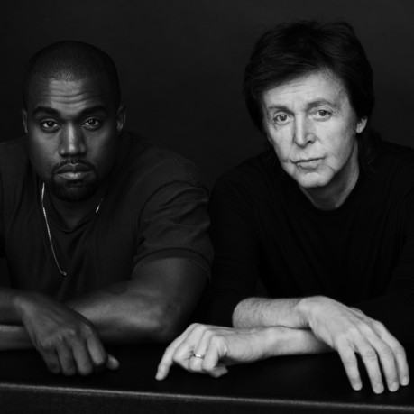 Kanye West och Paul McCartney