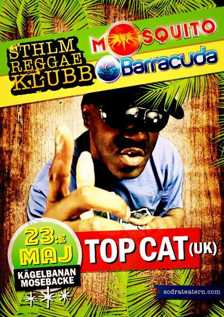 Legendary Top Cat from UK @ Kägelbanan