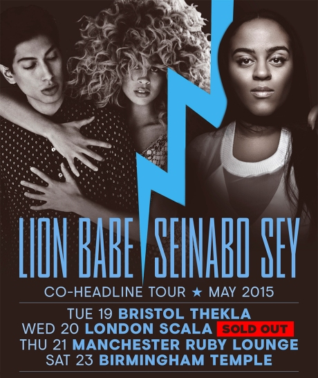 Seinabo Sey x Lion Babe UK tour Dates